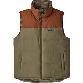 Patagonia Reversible Bivy Down Vest Men Sage Khaki